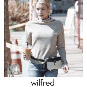 Aritzia Wilfred | Cyprie Mock-neck wool sweater